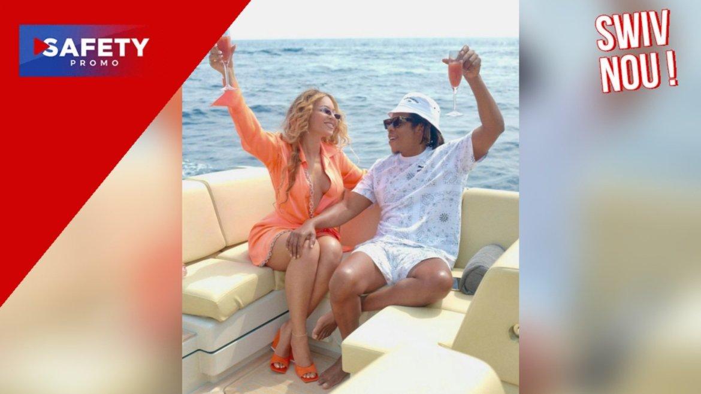 Beyoncé et Jay-Z paient près de 4 millions de dollars par semaine pour passer leurs vacances sur ce méga yacht luxueux