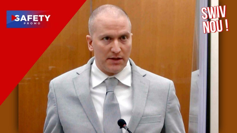 Derek Chauvin, l'ex-policier condamné pour le meurtre de George Floyd, fait appel