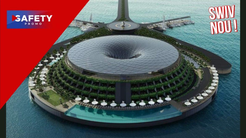 Cet hôtel qui tourne sur lui-même pourrait flotter dès 2025