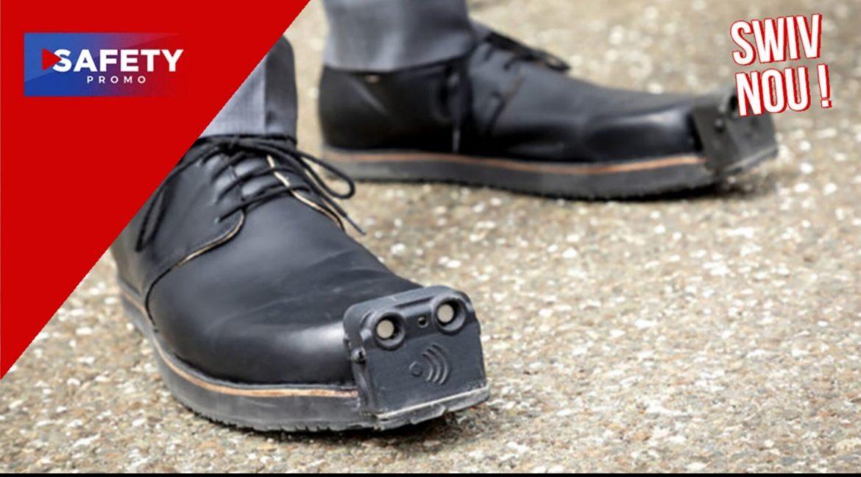 Ces chaussures intelligentes guident les personnes malvoyantes