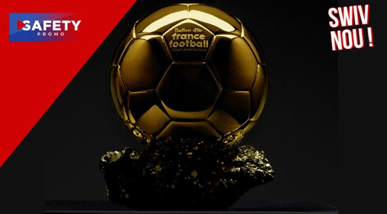 Le Ballon d'or sera décerné le 29 novembre à Paris