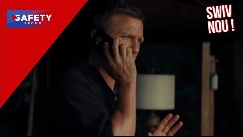 Pourquoi James Bond n'utilise pas un iPhone mais un Nokia