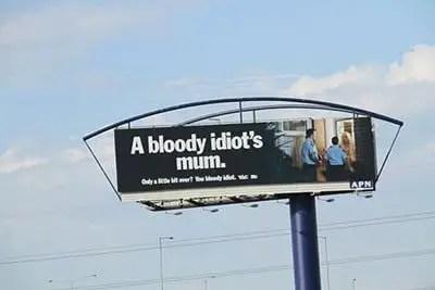 bloody idiot