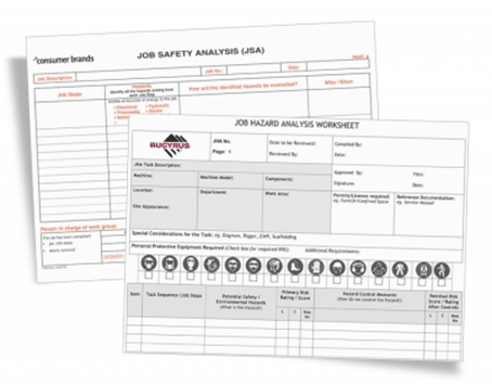 Job Safety Analysis Forms  Jsa Form Template