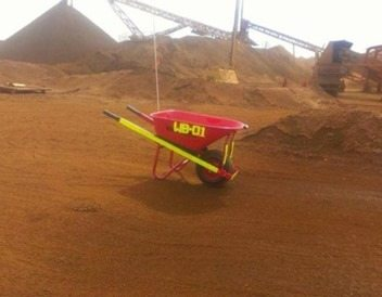 mining wheelbarrow