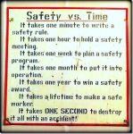 Safety Aphorisms and Platitudes