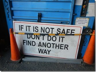 if its not safe