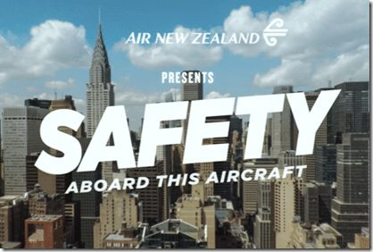 Air NZ Safety Video