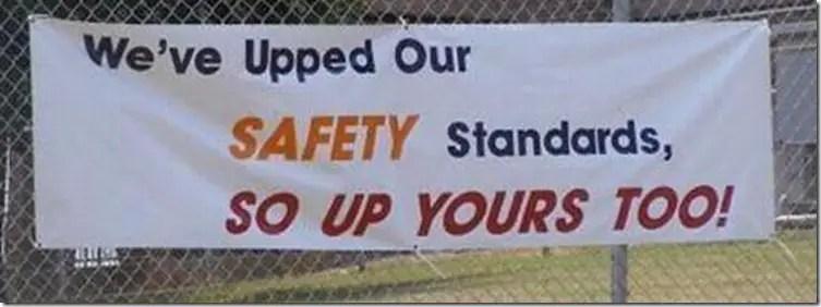 safety sign fail