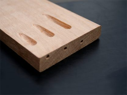 low angle screw pockets made with pocket hole joinery