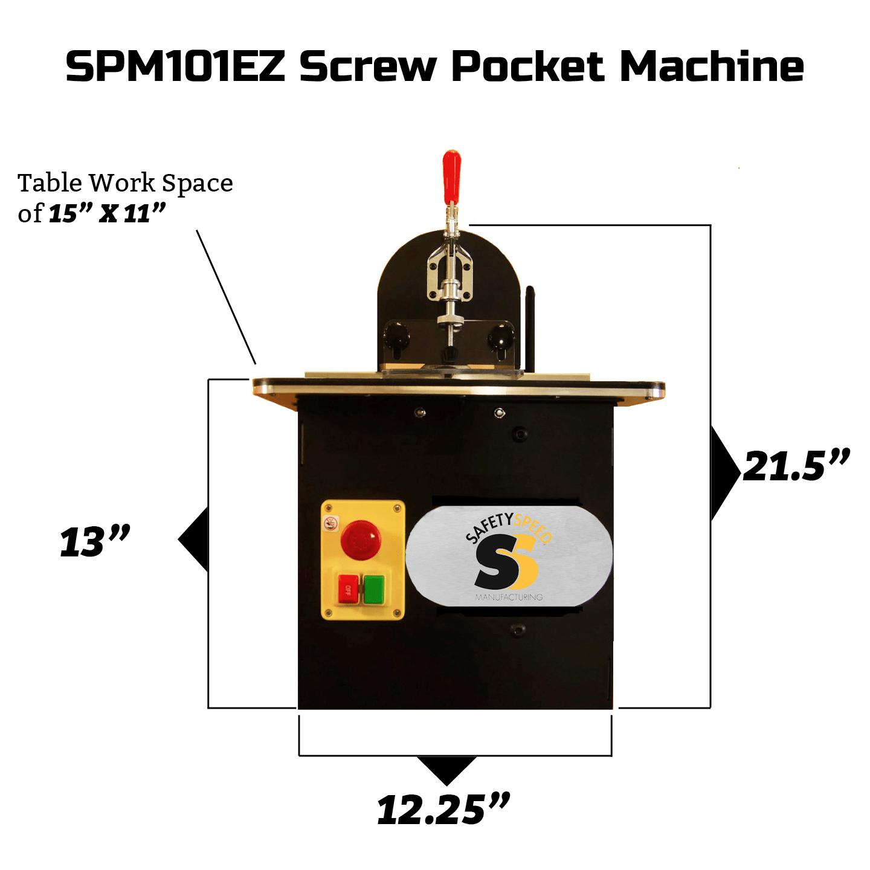 SPM101EZ Screw Pocket Machine
