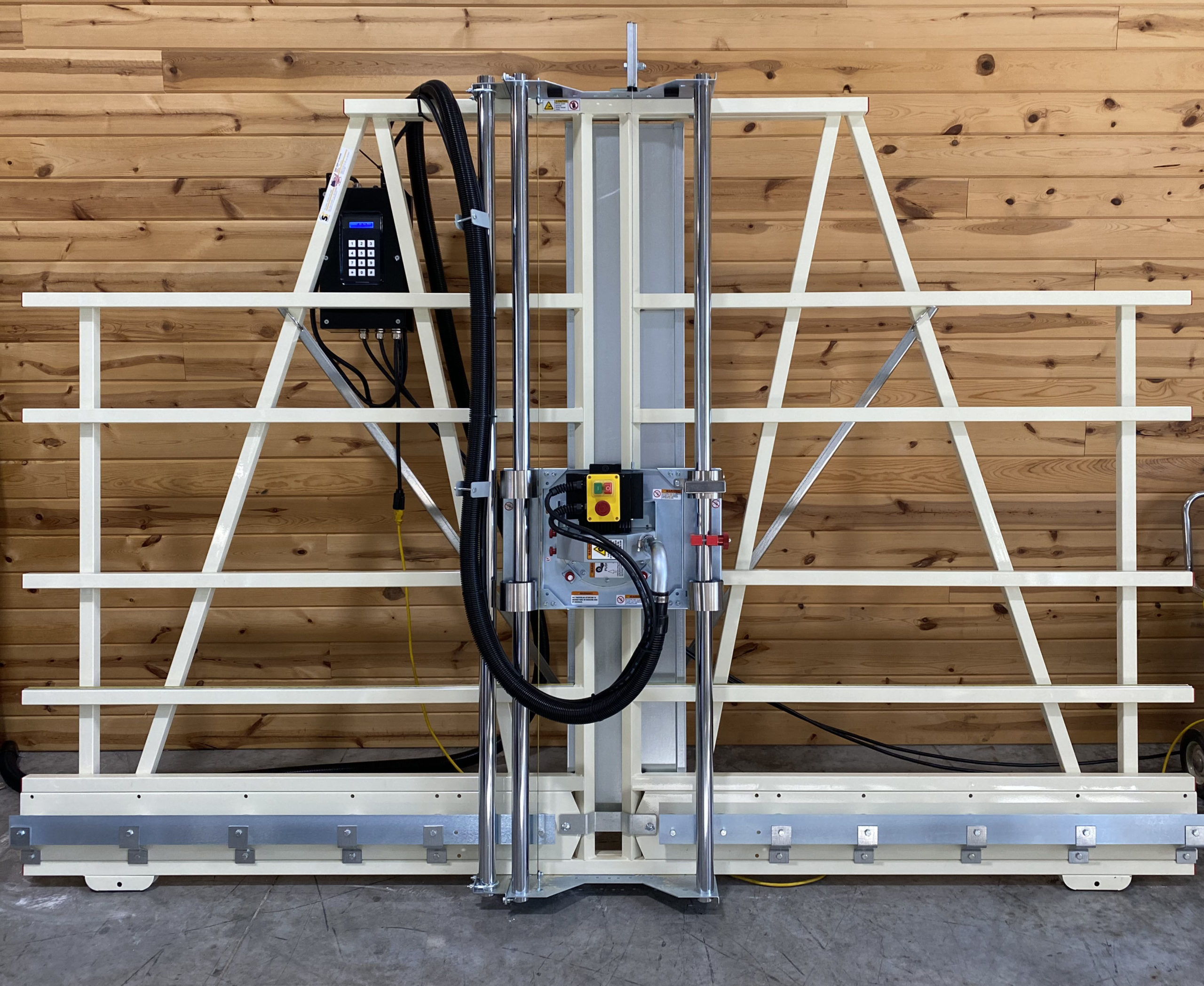 Vertical Panel Saw with Servo Motor