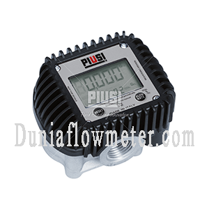 Oval gear electronic flow meters K400