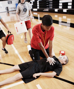 CPR, AED, First Aid Sports