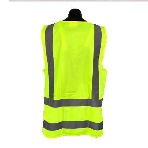 Fluro Yellow Safety Vest