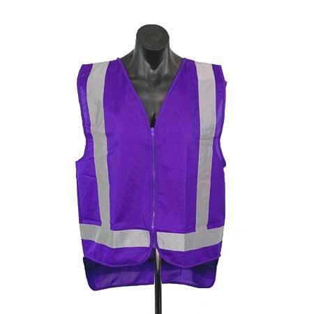 Purple safety Vests
