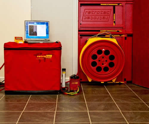 fire-suppression-room integrity test