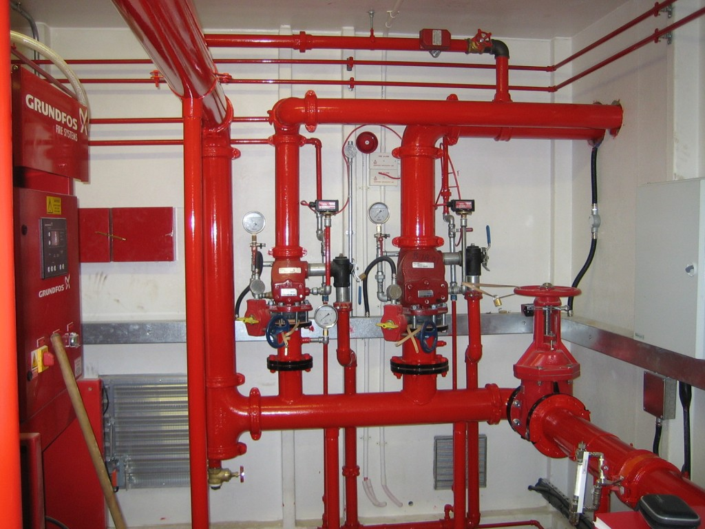 METHOD STATEMENT FOR INSTALLATION OF SPRINKLER & FIRE FIGHTING SYSTEM PIPEWORK &  ACCESSORIES