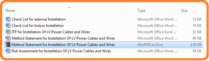 Method_Statement_for_Installation_Of_LV_Power_Cables_and_Wires