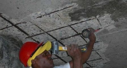 honeycomb concrete repair method