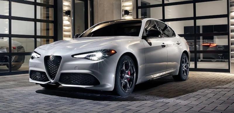 Alfa Romeo body shop