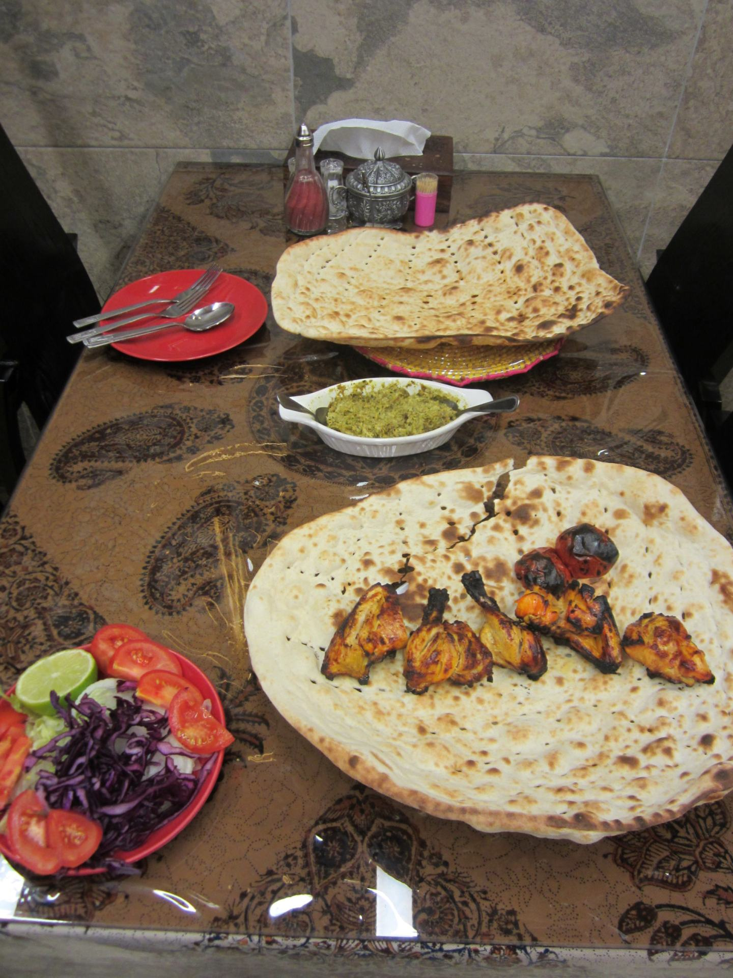 Authentic Persian dishes