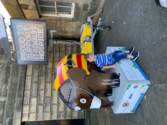 Great North Elmer Parade helped us keep fit