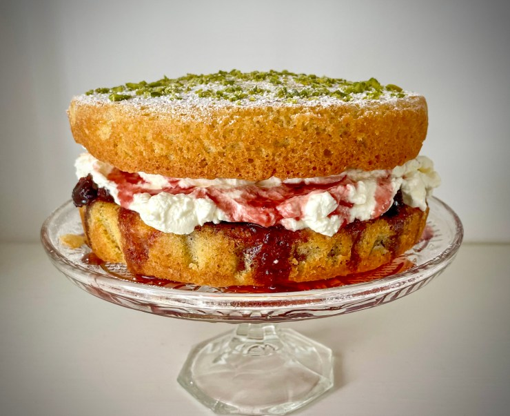 A Persian Homage to the Victoria Sandwich