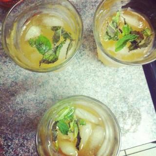 Goldrush cocktails