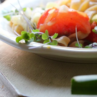 Simple suppers: pasta with braised garlic and tomatoes