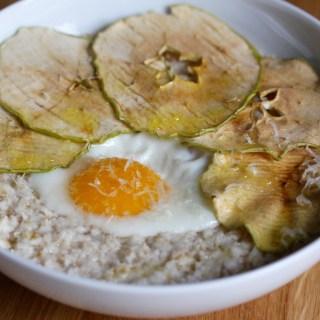 The ultimate oatmeal breakfast bowl