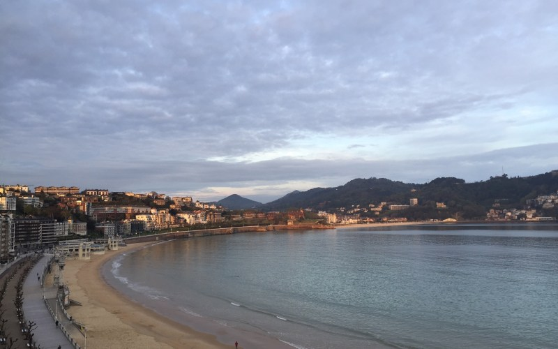 Postcard from San Sebastián