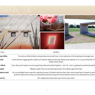 Guide to Marfa, TX