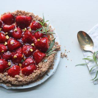 s&h classics: Strawberry Yogurt Tart