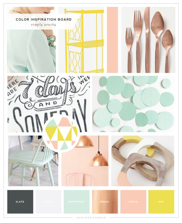 SimplyPeachy-ColorInspirationBoard