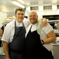 Nathan Outlaw and Tom Kerridge