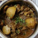 kosha mangsho or bengali mutton curry