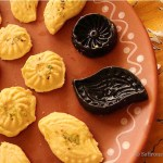 mango sandesh – a summer delight