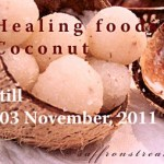 announcing healing foods event and giveaway : coconut
