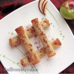 apple pecan cigar rolls