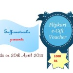 Bengali New Year 2013 and a Giveaway !