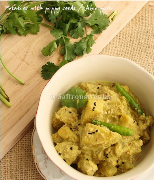 Aloo posto and why a bengali girl can not be a vegetarian bengali aloo posto forumfinder Images