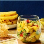 Pineapple, mango and avocado salsa – the best summer refreshment of the season