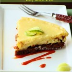Key lime pie spiked with chipotle jam and a short interview at Nari- sakhi