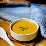 Spicy carrot and ginger soup