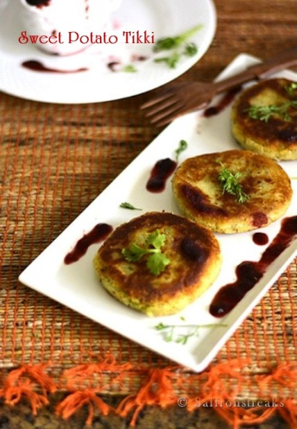 sweet potato patty recipe
