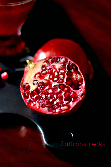 pomegranate photography