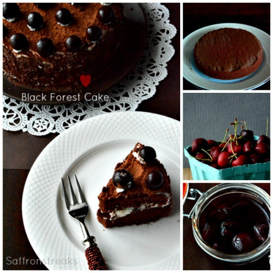 black forest cake cherry brandy