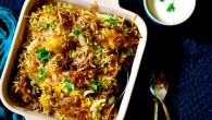 "Biryani – even the word sounds so delicious and exotic, smells aromatic and promises a royal treat of highly fragrant basmati rice and richly spiced succulent meat, dish that is fit for kings and nobles. Though the word ""biryani"" which is derived from the word ""biryan"" has its root in Persia, the dish is known to origin in India during Mughal dyansty rules. As the saying goes that ""necessity is the mother of all inventions"" so does the biryani which […]"