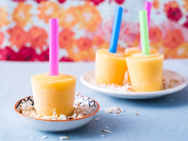 orange chia popsicle smoothie